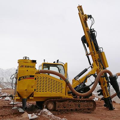 JK730 is working in Xinjiang