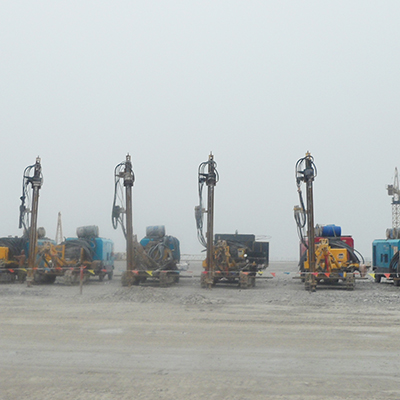 JK 590 is Working on Langfang Site