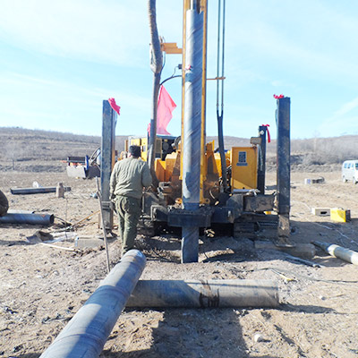 JKS300 is working on site in Shanxi