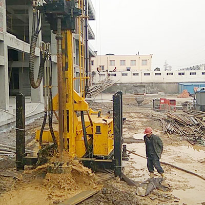 JKS500C Construction site