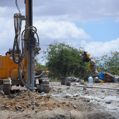 JK590 is working on site in Kenya