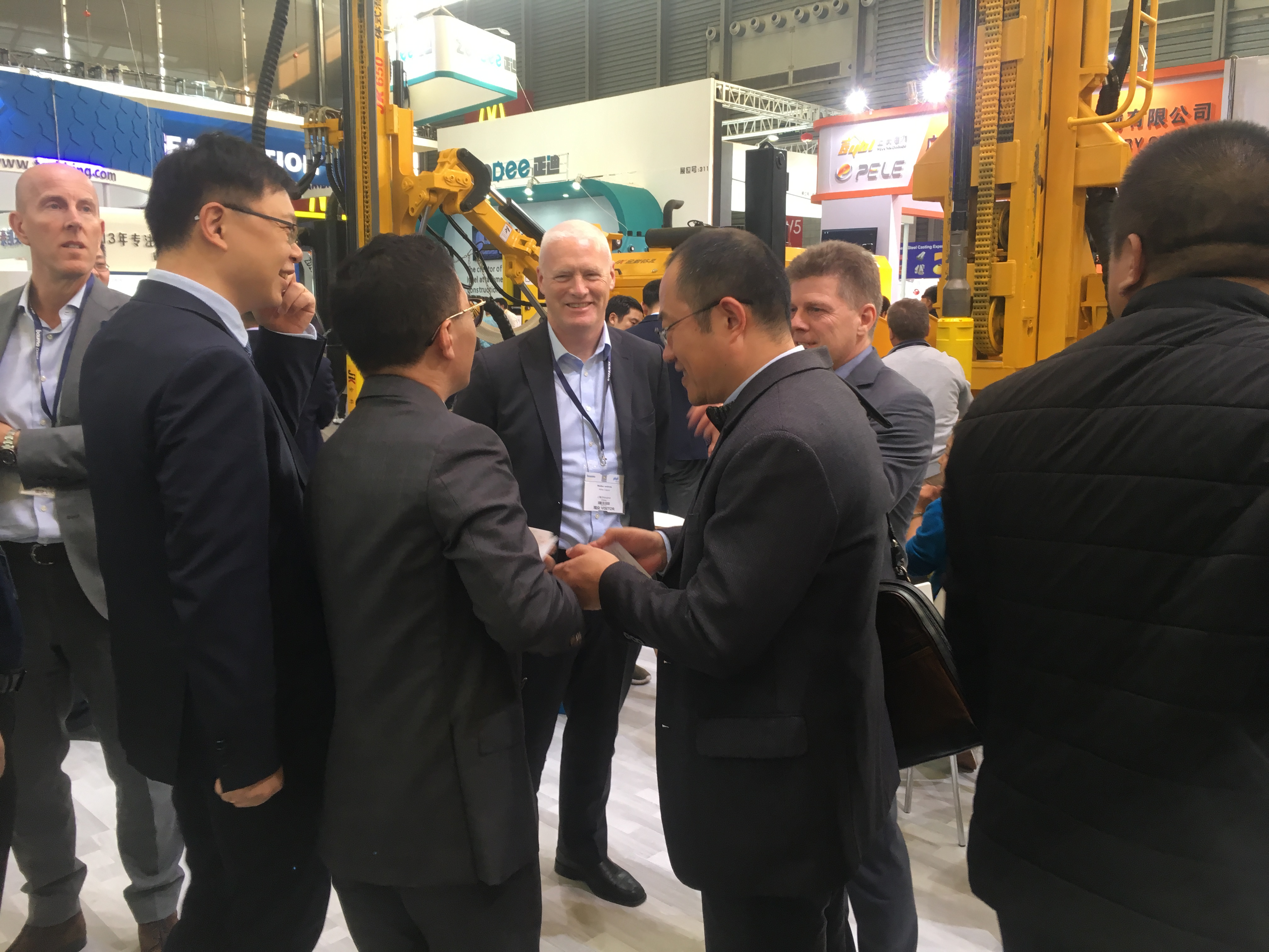 JK Drilling's successful exhibition - 2018 bauma CHINA in Shanghai from Nov.27-30.