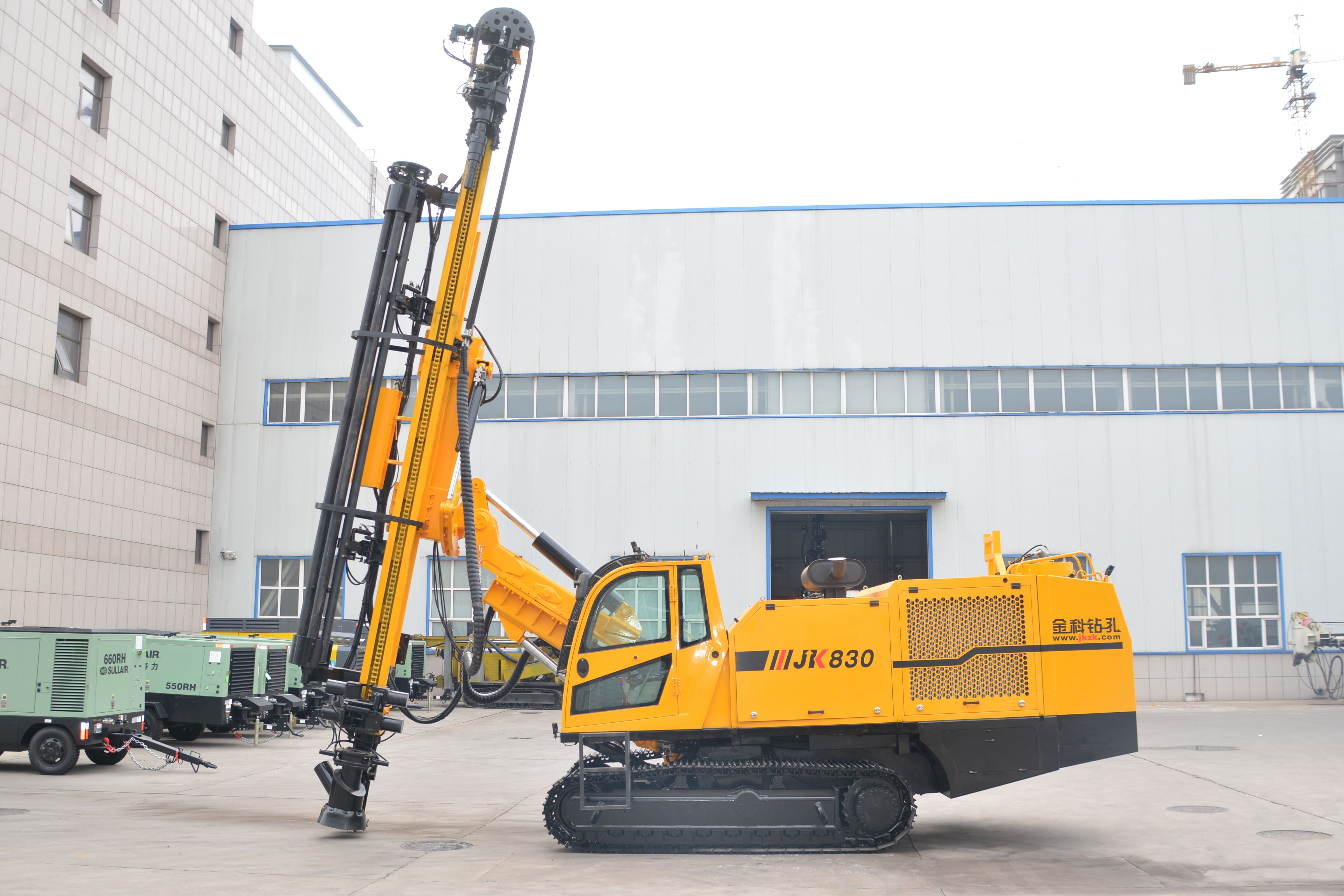 Why Do You Choose JK Crawler Mounted Drilling Rigs?
