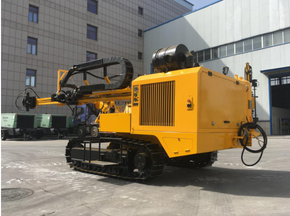 JK410 Crawler Mounted Hydraulic Top-hammer Drill Rig Is Definitely Your Best Choice