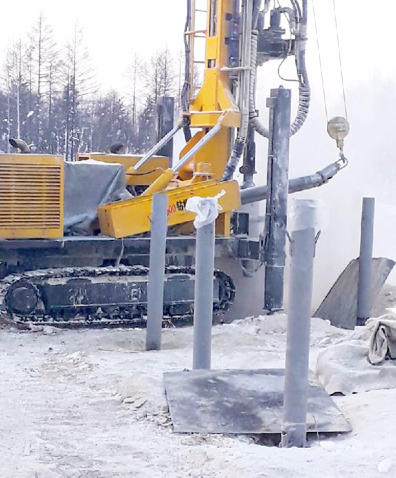 JKS600 is working in Russia