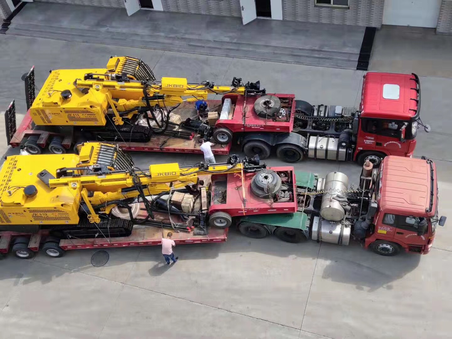 All In One Hydraulic DTH Drilling Rig