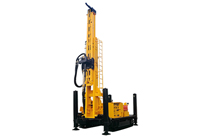 Crawler Mounted Versatile Well Drilling Rig