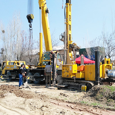 JKS300 is working on site in UZ (Uzbekistan)
