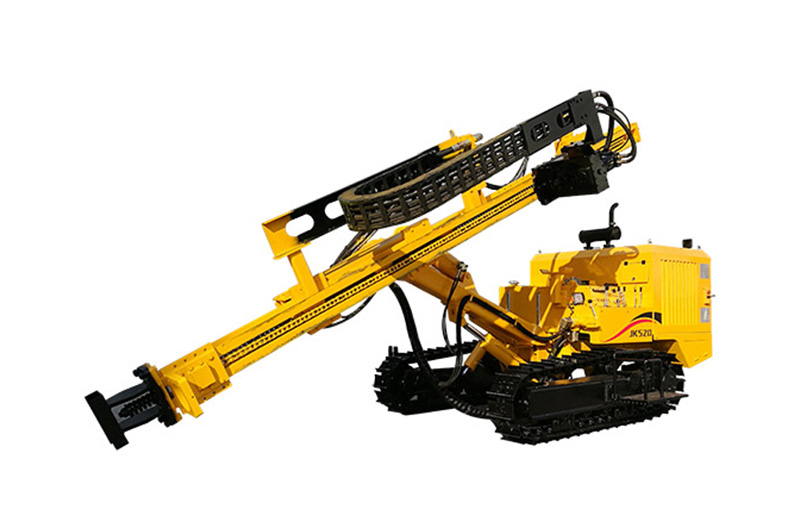 JK520 Crawler Mounted Hydraulic DTH Drilling Rig