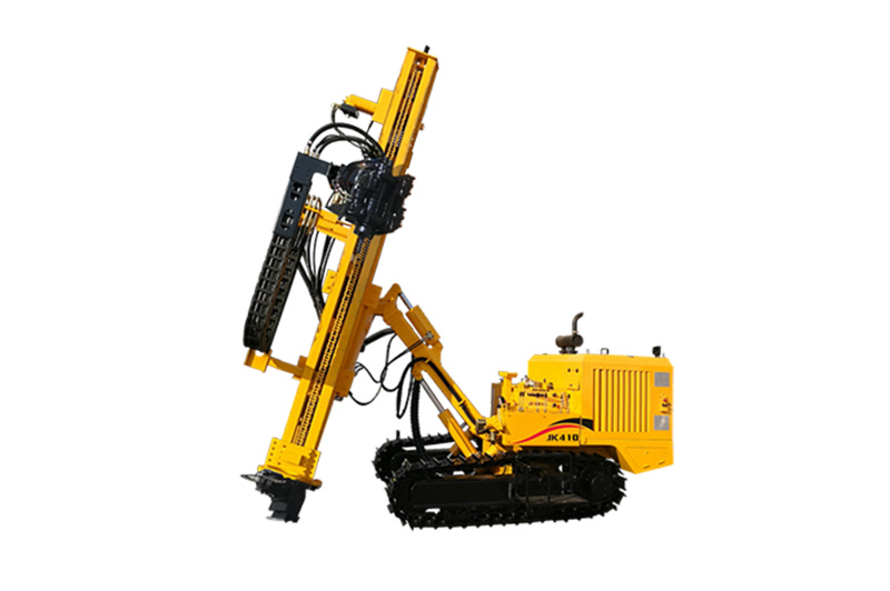 Crawler Mounted Pneumatic Tophammer Drill Rig