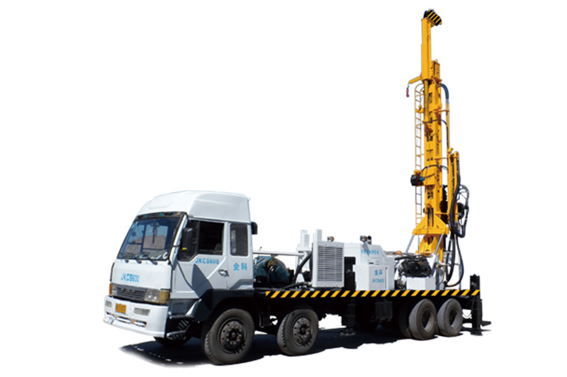 JKCS600 Truck Mounted Well Drilling Rig