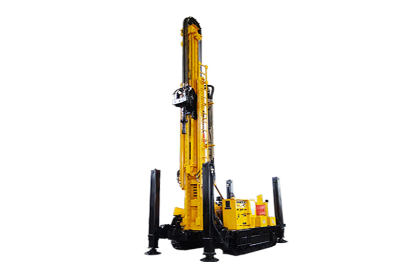 JKS380S Crawler Mounted Telescoping Mast Well Drilling Rig