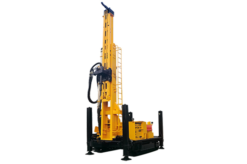 JKS400SH Crawler Mounted Telescoping Mast Well Drilling Rig
