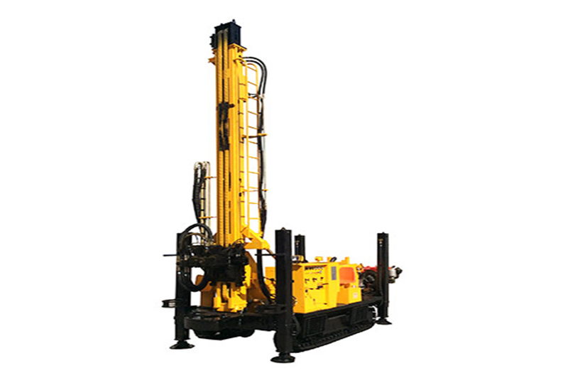 JKS500C Crawler Mounted Versatile Well Drilling Rig