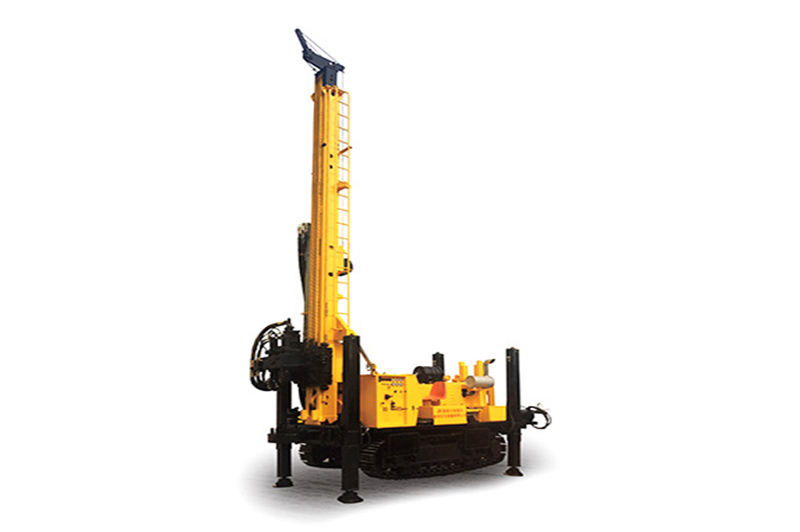 JKS1000 Crawler Mounted Versatile Well Drilling Rig
