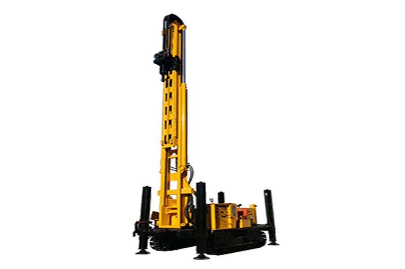JKS600SH Crawler Mounted Telescoping Mast Well Drilling Rig