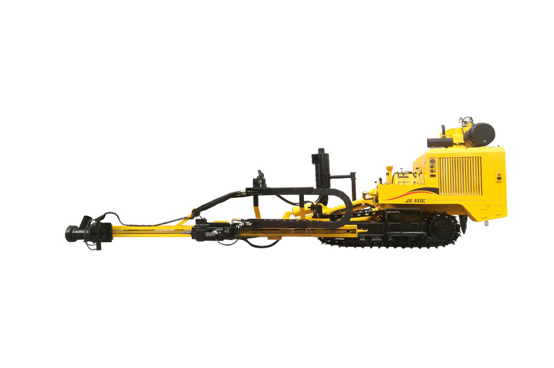 JK410 Crawler Mounted Pneumatic Tophammer Drill Rig