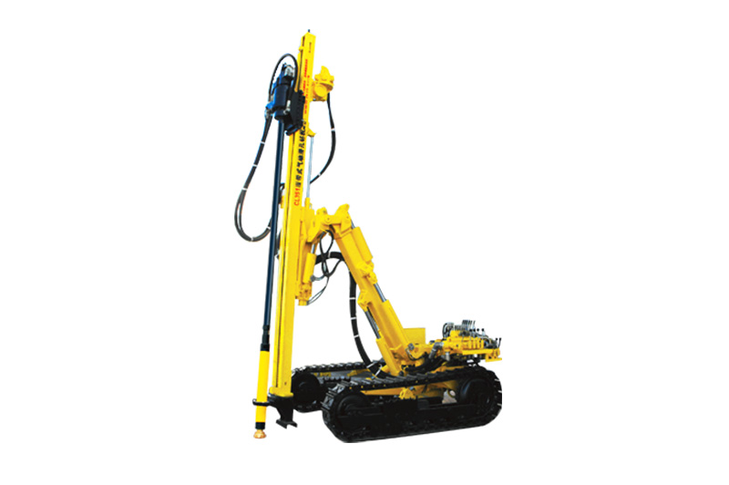 The Working Characteristics Of The Crawler Mounted Drill Rig