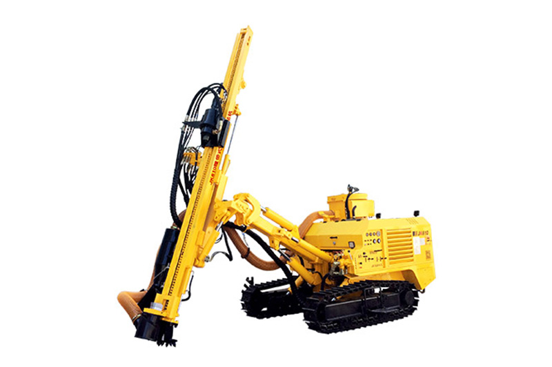 The Main Advantages Of The Crawler Mounted Drill Rig