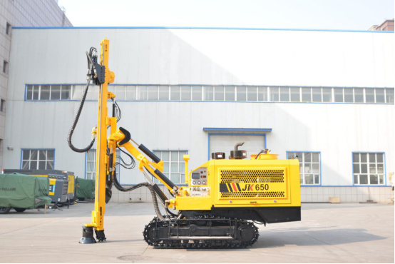 Our New Product JK650 All-in-one DTH Drill Rig