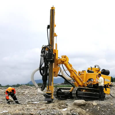 JK590C working in Nepal