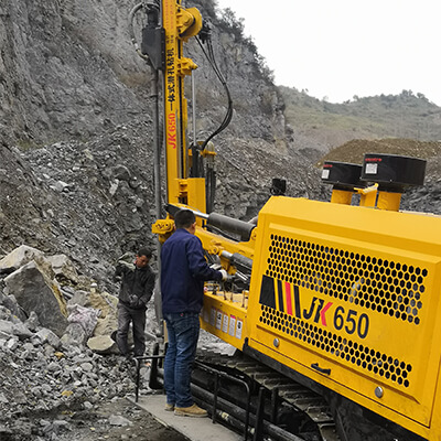 JK650 is working in guizhou