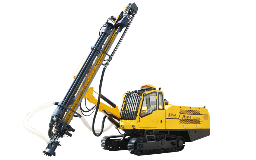JK810 all-in-one hudraulic drilling machine helps customers gain profit.